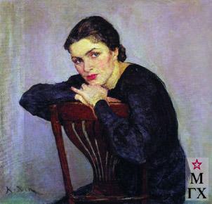 К. Ф. Юон, Женский портрет. Конец 1930-х.